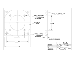fhead drawing templates